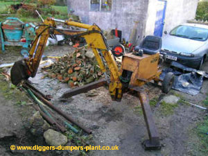 Fleming Micron, mini digger, excavator, backhoe