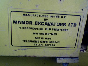 Manor Excavators Ltd