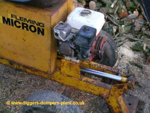 Fleming Micron, Honda engine and good hydraulic ram
